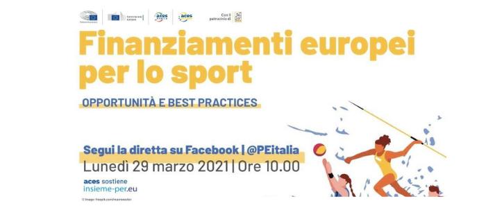 Finanziamenti europei per lo sport,opportunità e best practices